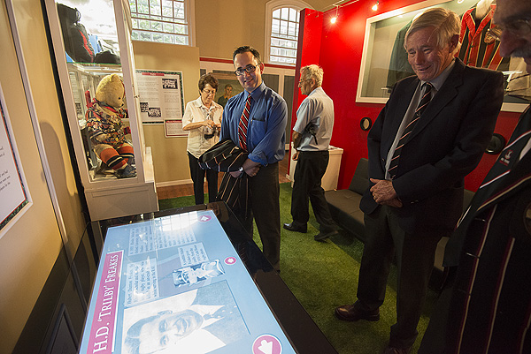 The Maritzburg College Museum was opened on the 150th Anniversary of the all boys school by former headmaster Ron Jury (2006-2012) who had paved the way for its establishment. PHOTO: David Larsen/Africa Media Online