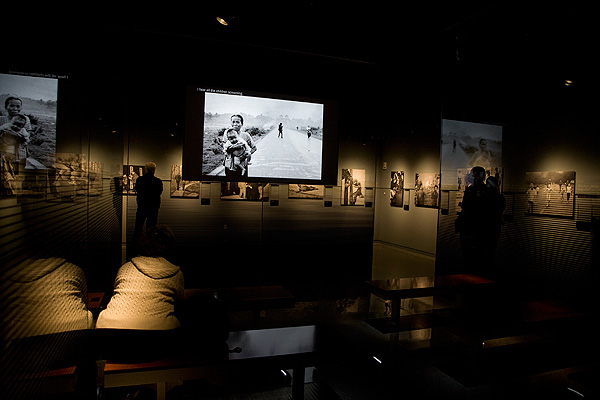 The Pulitzer Prize gallery at the Newseum in Washington DC showcases winning images from decades past. The quality of the images is a direct outcome of a careful selection process drawn from a large pool of images appearing in the press.