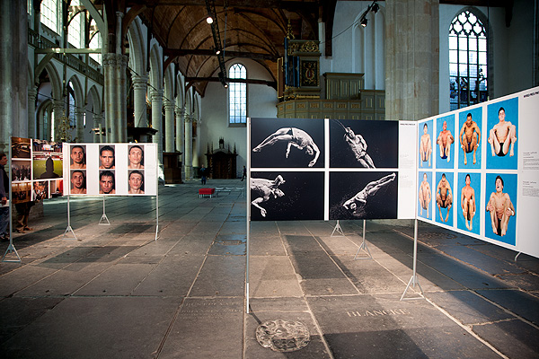 The World Press Photo exhibit in Die Oude Kerk in Amsterdam, The Netherlands, is an annual exhibition showcasing the best of photojournalism around the World. The several hundred winning pictures are selected from over 100,000 images submitted by professional photographers all over the planet. The quality of the exhibition is determined by the quality of the selection which is performed by an independent selection panel made up of photo editors from some of the World's leading publications and photo agencies