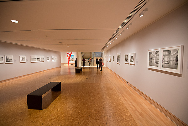 The Aftermath of Conflict, exhibition by South African photographer Jo Ractliffe - pictures from Angola and South Africa at the Metropolitan Museum of Art, New York, November 2015.