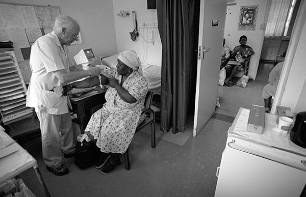 I documented the work of my father, Dr JV Larsen MBchB (UCT) F.R.C.O.G. in his final week working at Eshowe hospital having worked as an obstetrician and gynaecologist for 40 years among rural women. In order to ensure an integrated health care referral system for pregnant mothers in Zululand, he chose to work part time for KwaZulu Health and part time for Natal Provincial Administration. While that decision, along with such sacrifices by his colleagues, saved the lives of literally hundreds of women and babies, (the infant mortality rate in the region dropped dramatically over the decades of their service), it came at a personal cost - part-time staff do not get pensions like their full-time colleagues - a cost he knew about at the time, yet was prepared to pay for the sake of others! In his retirement he began to work at the Howick AIDS Clinic for a number of years. Now, however, in spite of being in his mid-70s he is back bringing his half-century of experience to working as a consulting obstetrician in rural clinics in the KZN Midlands.