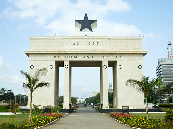 Black Star Gate at Independence Square, Accra, Ghana
